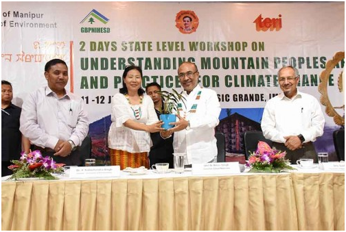Biren expresses concern about climate change
