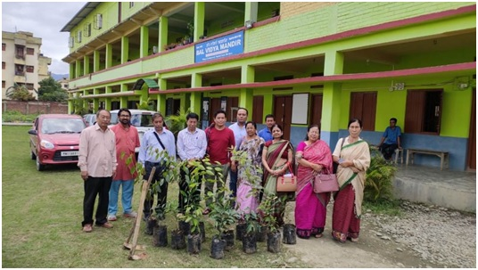 Tree Plantation Drive at Bal Vidya Mandir Complex