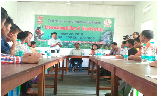 International Day of Biodiversity observed at Thoubal