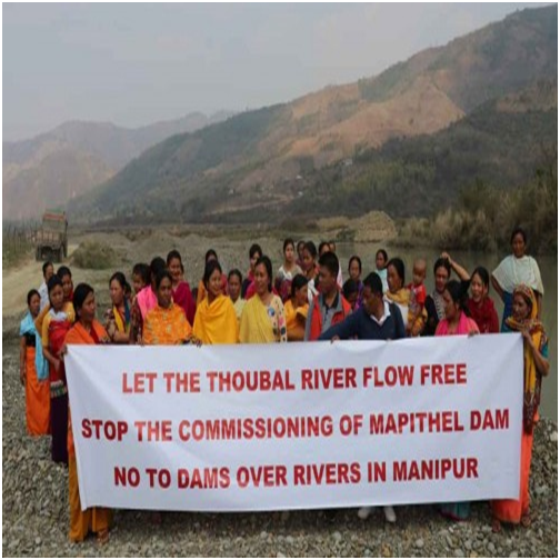 "International Rivers Day at Nungbrung village, under the theme ""Let the Rivers Flow Free in Manipur"