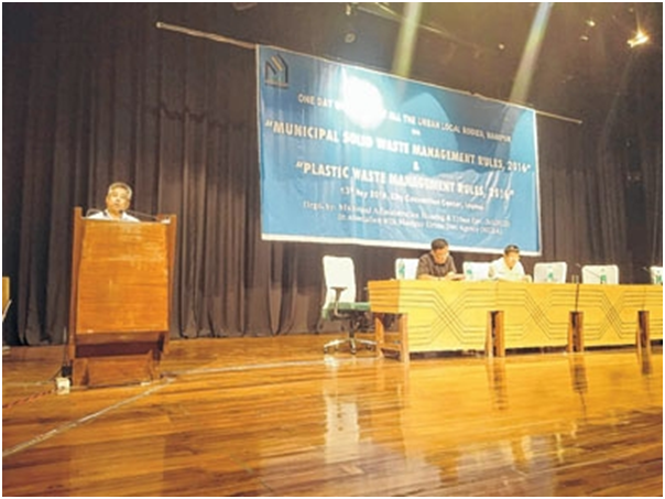 One day workshop on solid, plastic waste management held