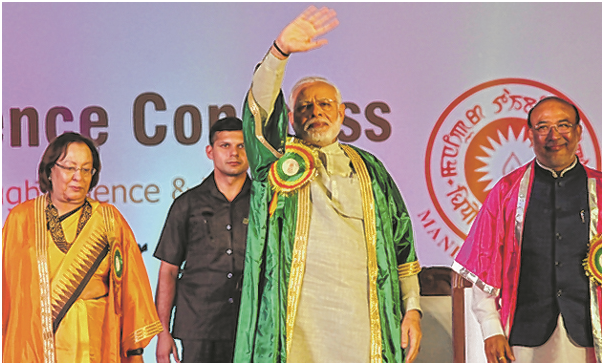 PM opens 105th Indian Science Congress Modi hails legacy of Hawking